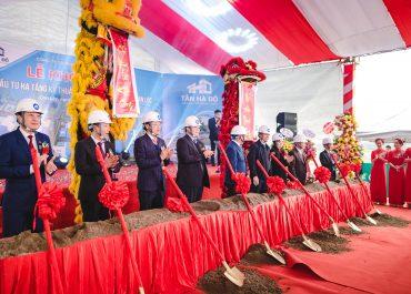 Khởi công cụm công nghiệp Tân Hà Đô, Can Lộc, Hà Tĩnh